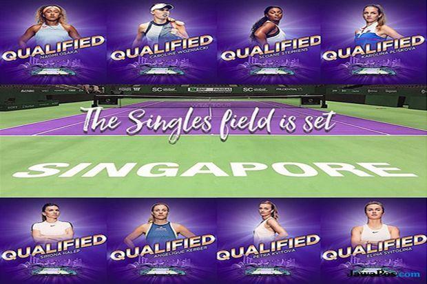 WTA Finals 2018, Simona Halep, Angelique Kerber, Caroline Wozniacki, Naomi Osaka, Petra Kvitova, Sloane Stephens, Elina Svitolina, Karolina Pliskova