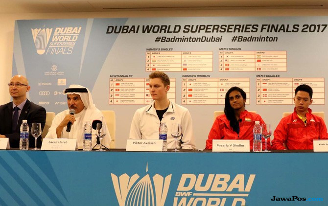 Ini Hasil Undian Dubai World Superseries Finals 2017