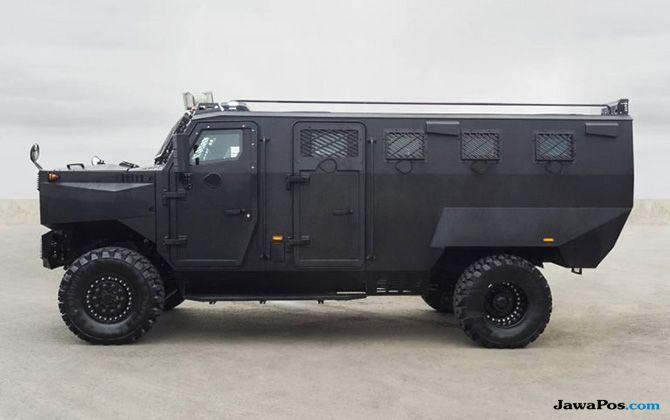 Inkas Superior APC: Mobil Lapis Baja, Penakluk Segala Medan