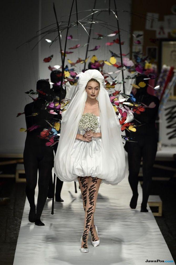 bela hadid, milan fashion week,