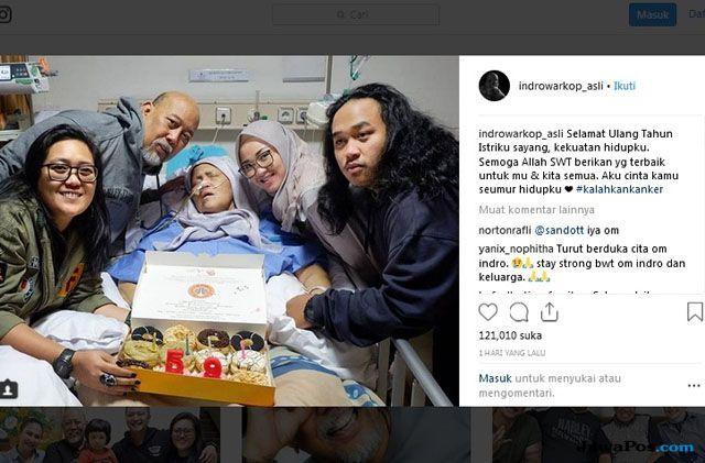 Istri Indro Warkop Dimakamkan di TPU Karet Bivak Besok Siang