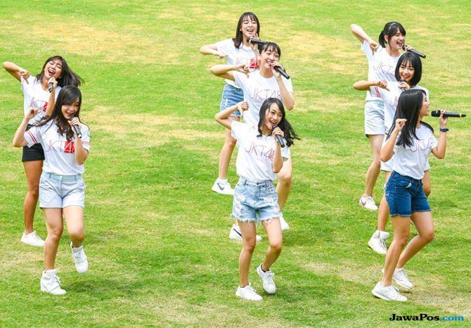 Jadi Pembuka Berbagai Pertandingan Asian Games, JKT48 Tampil Sporty