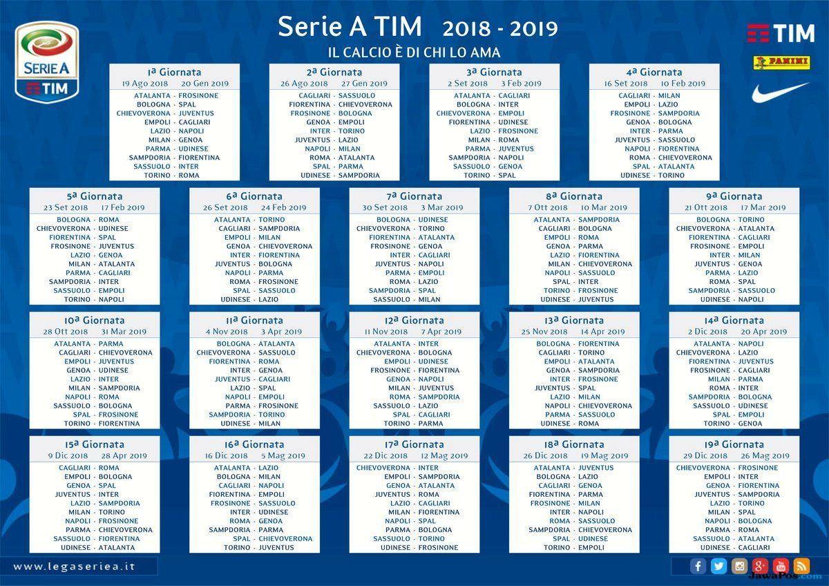 Serie A Italia 2018-2019, Liga Italia
