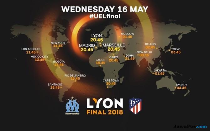 Jadwal Live TV, Jadwal Siaran Langsung, Final Liga Europa, Final Liga Europa 2017-2018