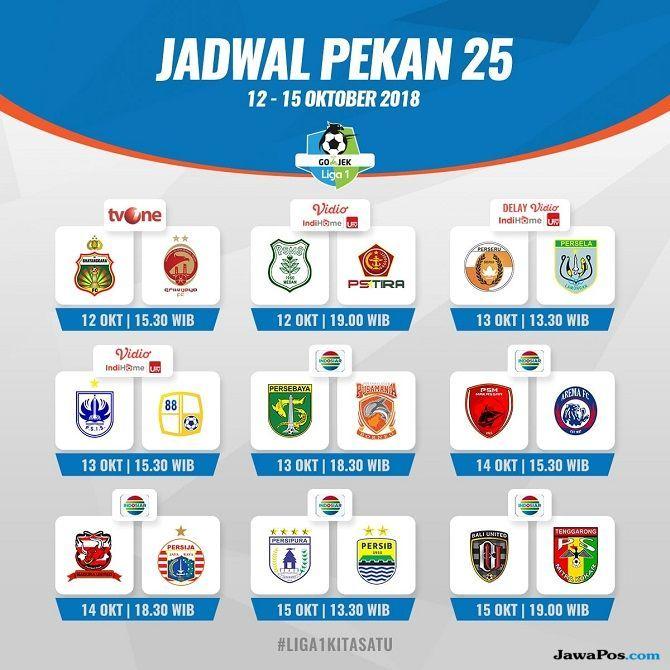 jadwal liga 1 2018