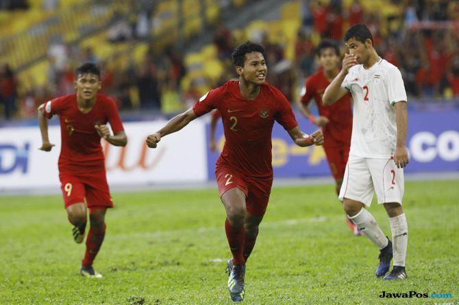 Piala Asian U-16 2018, Timnas U-16, Timnas U-16 Indonesia, Perempat Final, Australia