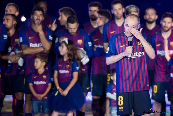 Barcelona 1-0 Real Sociedad, Barcelona, jersey barcelona, andres iniesta, jersey baru Barcelona