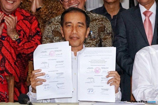 Jokowi: Apa yang Saya Kerjakan adalah Bukti Bukan Fiksi