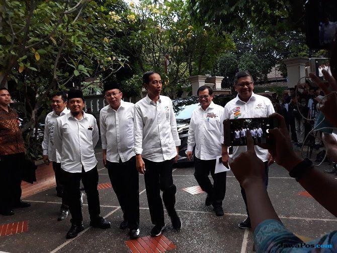 Jokowi Resmi Tunjuk Erick Thohir Jadi Ketua Tim Kampanye Nasional