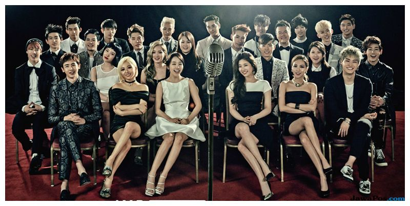 JYP Entertaiment Raih Diamond Creator Award Dari YouTube