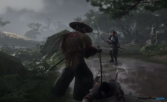 Ghost of Tsushima, PlayStation 4, game ps 4