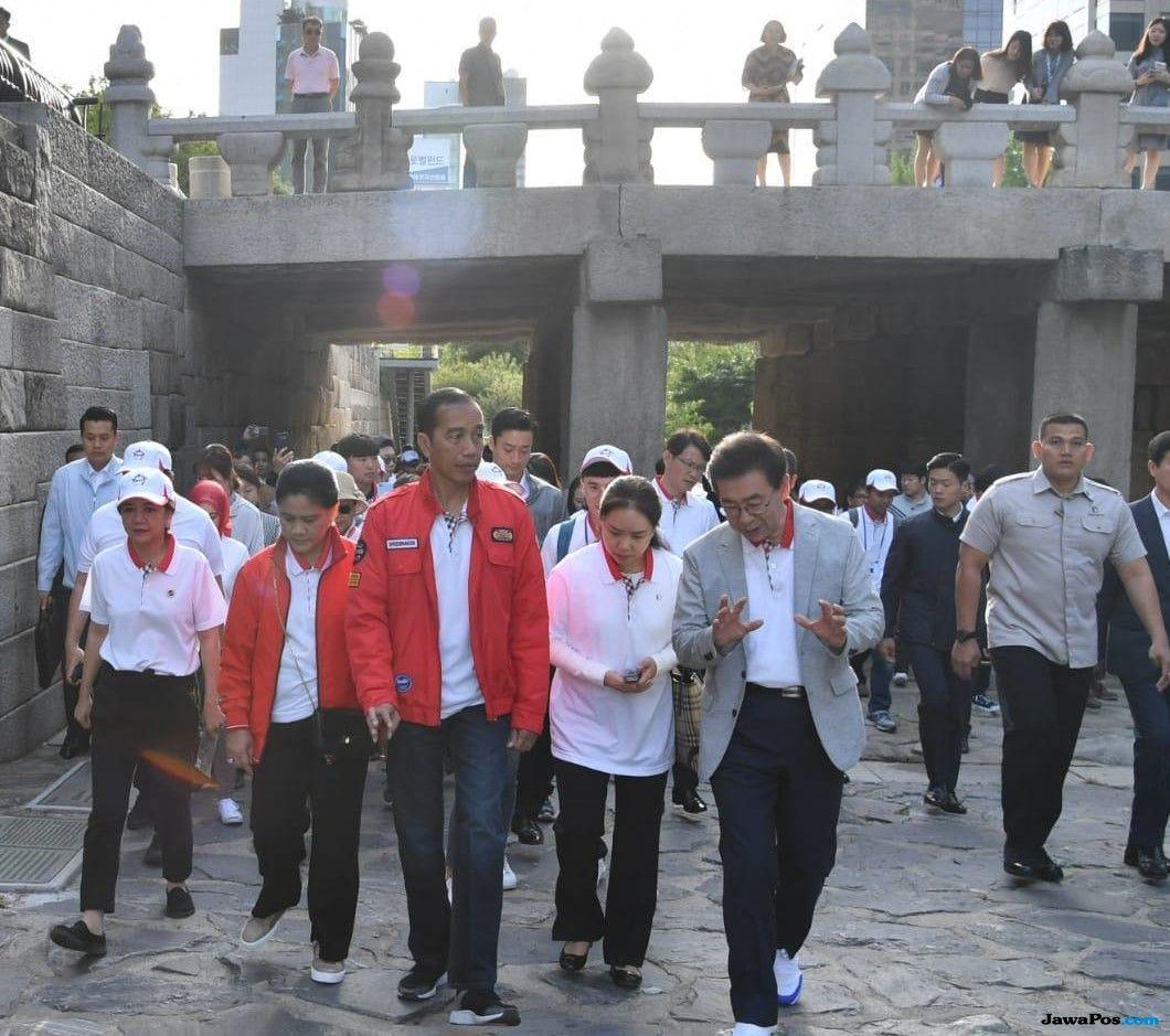 Keinginan Jokowi Ubah Sungai Ciliwung Seperti di Korsel