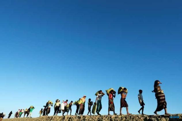 rohingya, myanmar, wartawan,