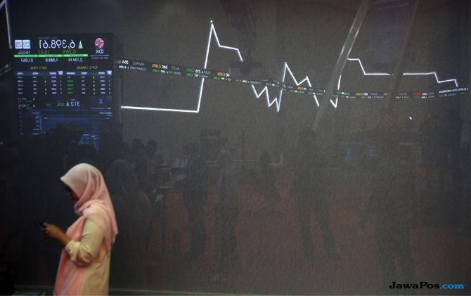 Kembali Ke Level 6.000 an, Transaksi Harian Saham Jadi Rp 7,99 Triliun