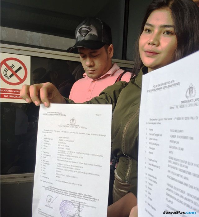 Keponakan dan Kakak Kandung Kompak Polisikan Dewi Persik