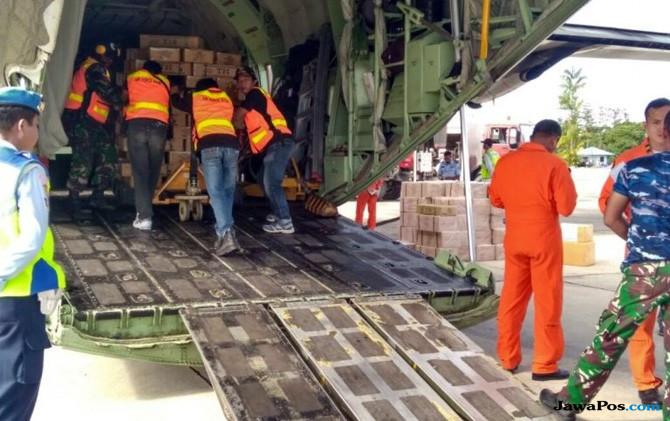 Kerahkan Pesawat Hercules Salurkan Bantuan Logistik untuk Warga Asmat