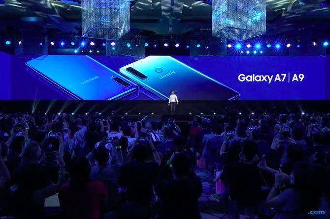 Samsung Galaxy A9, Galaxy A9 empat kamera belakang, Samsung Galaxy A9 spesifikasi
