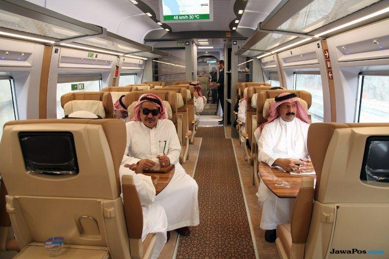 kereta cepat, kereta cepat haramain, arab saudi,