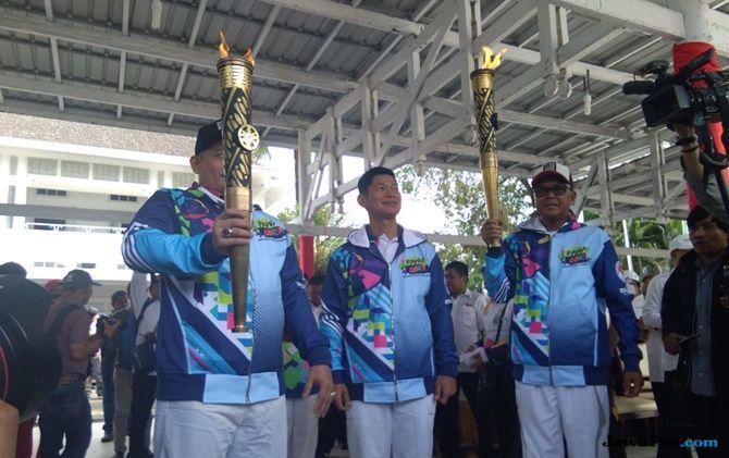 Kirab Obor Asian Para Games, Gubernur Sulsel: Sejarah Baru Indonesia