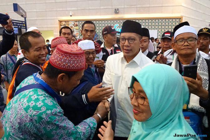 Kloter Terakhir Jamaah Haji Indonesia Tinggalkan Tanah Suci