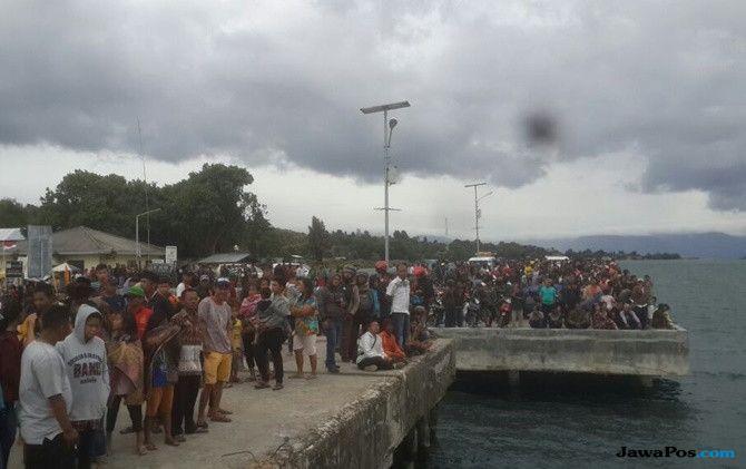 KM Sinar Bangun Karam di Danau Toba, Puluhan Orang Belum Ditemukan