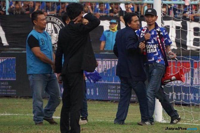 Arema FC, Persebaya Surabaya, Liga 1 2018, Komdis PSSI
