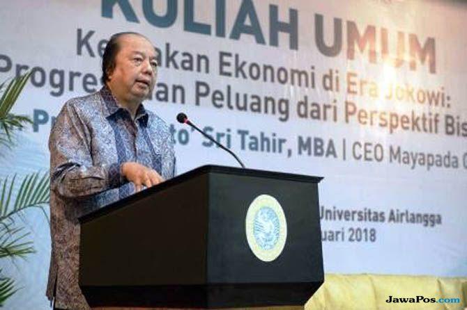 Konglomerat Dato Sri Tahir Tukarkan Dollar ke Rupiah Rp 2 Triliun