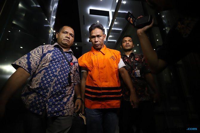 KPK Tahan Ketua Komisi B DPRD Kalteng Borak Milton