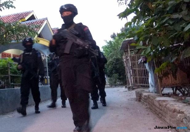 Pengamanan Terduga Teroris