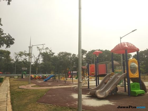 Lapangan Banteng Ada Area Bermain Murah Meriah Untuk Anak