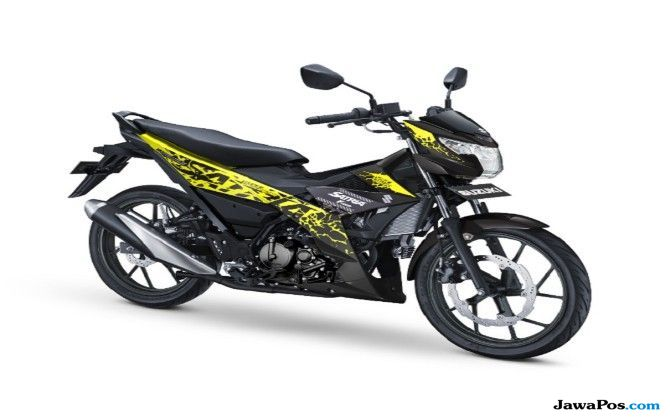 Lebih Muda dan Dinamis: 4 Warna Baru  Suzuki All New Satria F150