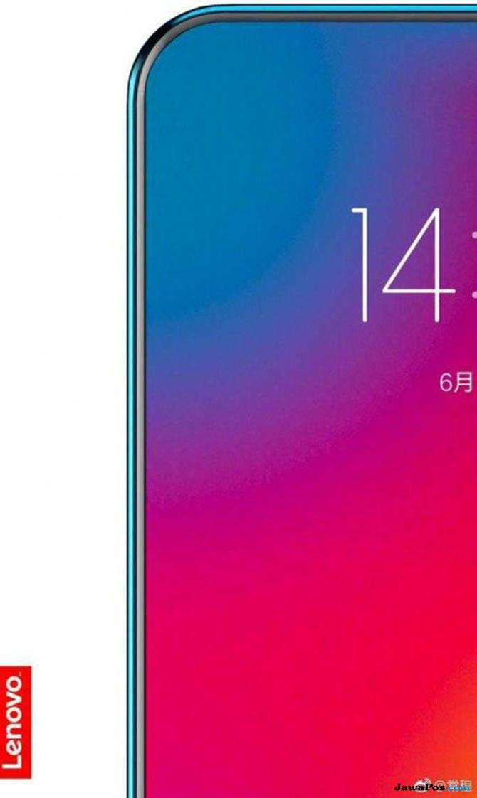 Lenovo Pamer Smartphone Hampir Tanpa Bingkai, Begini Penampilannya