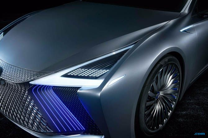 Lexus Perkenalkan Automated Driving Technology, Lexus LS+ Concept