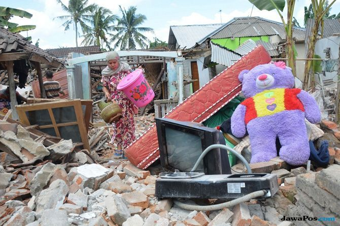Lombok Diguncang Gempa 7 SR, Perantau Minangkabau Dikabarkan Selamat