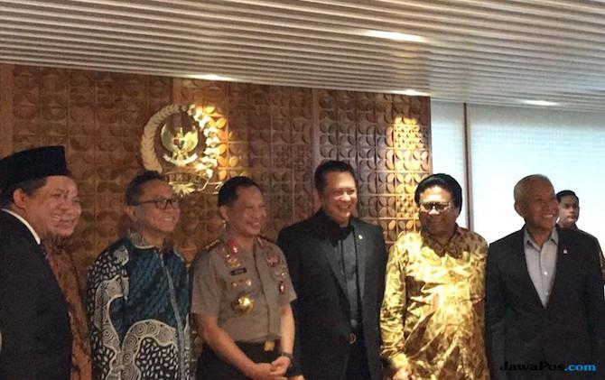Kapolri dan Pimpinan Parlemen