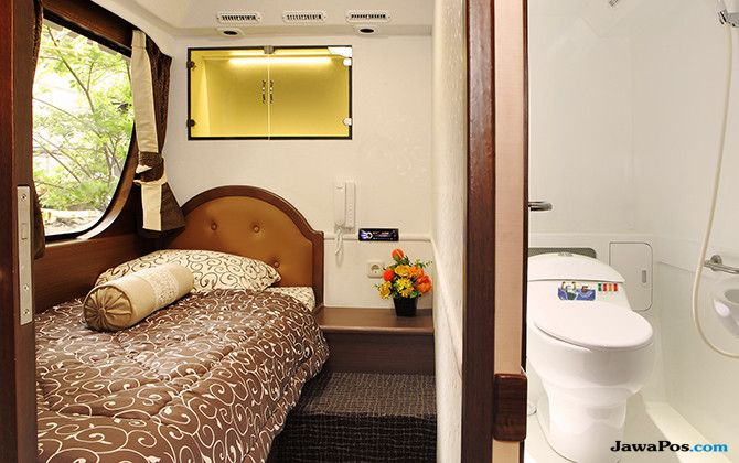 Luxury Home Bus: Hotel Bintang Di Dalam Kabin Bus