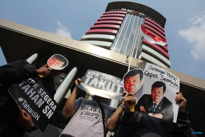 Maha Guru Koruptor Indonesia Diminta Segera Ditahan