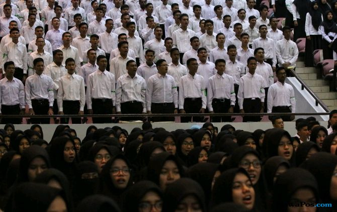 Mahasiswa Baru Unsyiah Diberi Materi Bela Negara dan Anti Radikal