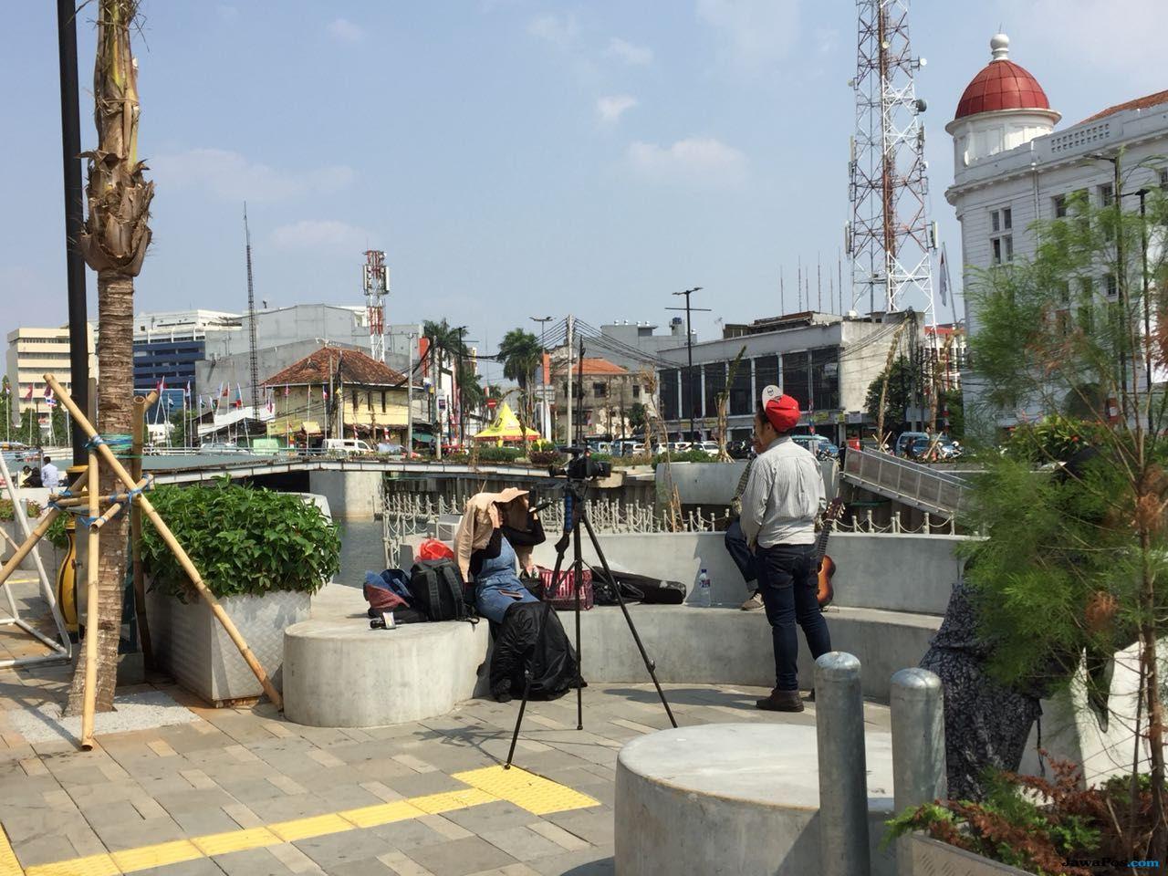 Makin Instagramable, Kali Besar Kota Tua Jadi Pilihan Traveler