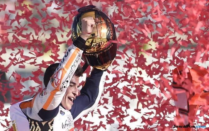 Marc Marquez Resmi Raih Gelar Juara Dunia Keempat MotoGP