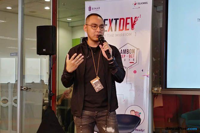 Telkomsel NextDev, Telkomsel NextDev Indonesia Timur, Steve Saerang telkomsel