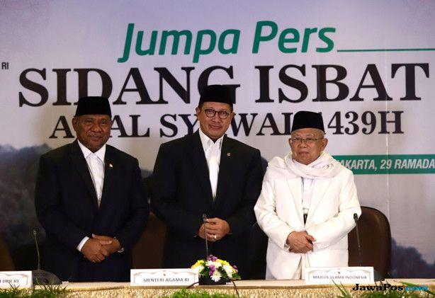 MUI Minta Khutbah Idul Fitri Tidak Berbau Pesan Politik Praktis