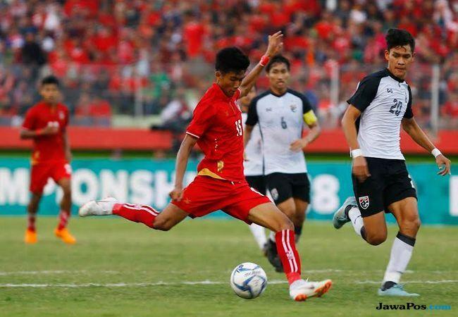 Timnas Myanmar U-19, Timnas Thailand U-19, Piala AFF U-19 2018