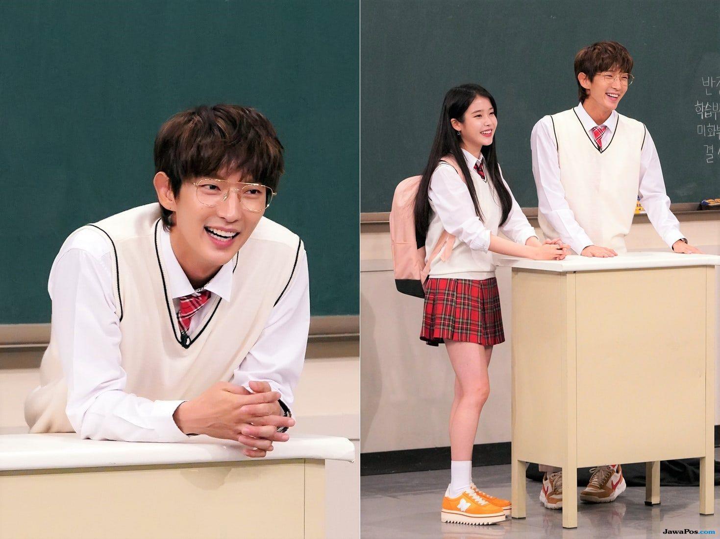 Orang Lucu Jadi Alasan Lee Joon Gi Dampingi IU di 'Knowing Brothers'