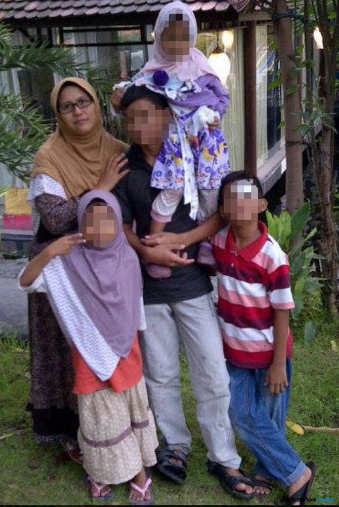 Pelaku Bom Gereja di Surabaya Sekeluarga, Libatkan Empat Anaknya