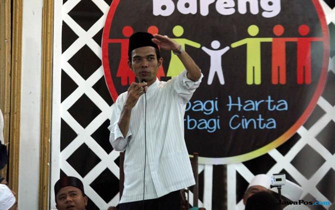 Pelaku Persekusi terhadap Abdul Somad Akan Dipolisikan ke Bareskrim