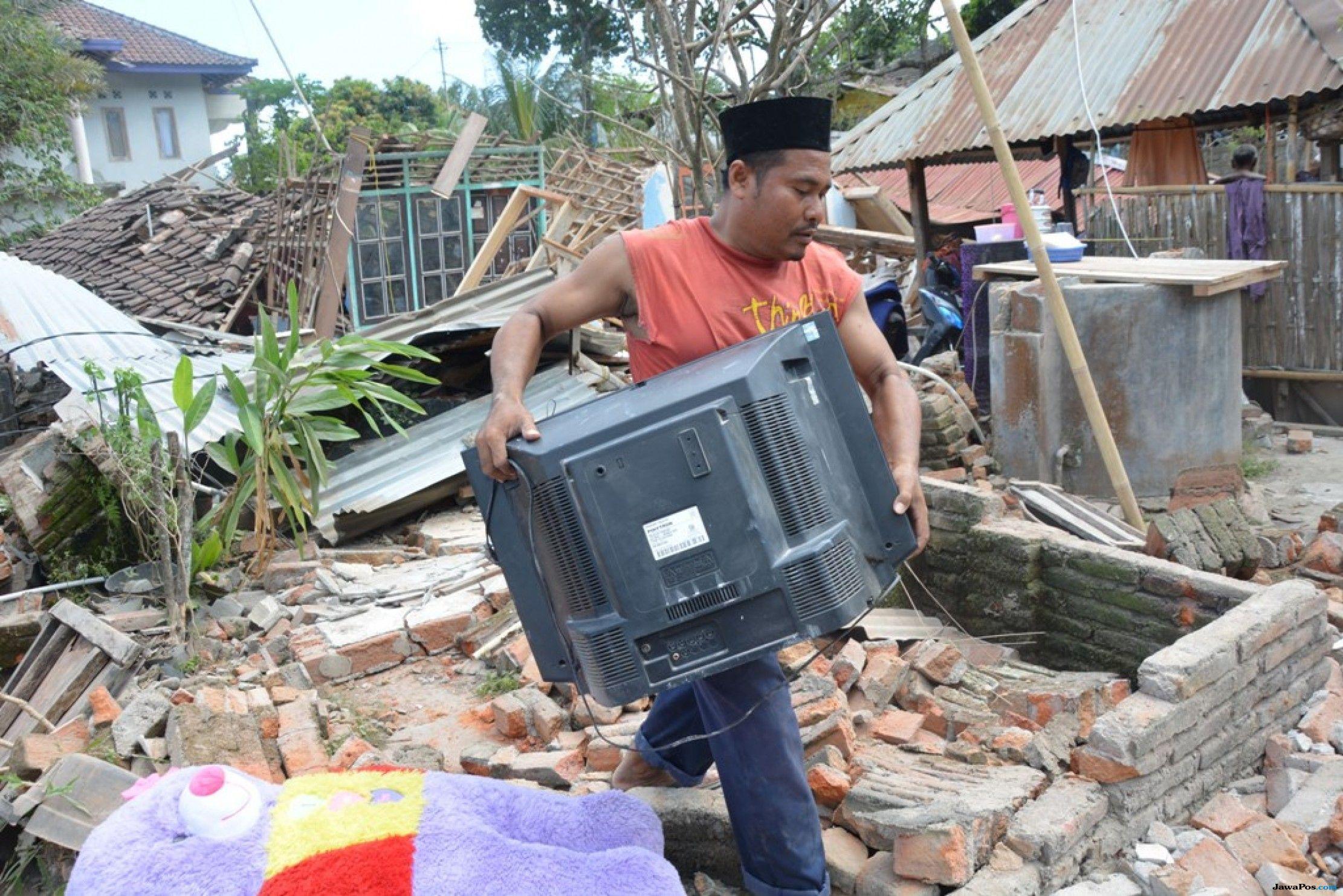 Penanganan Lombok Pascagempa, 21 Desa Masih Terisolasi