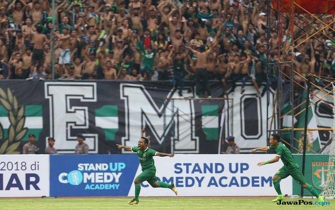 Persebaya Surabaya, Persija Jakarta, Liga 1 2018, Bonek