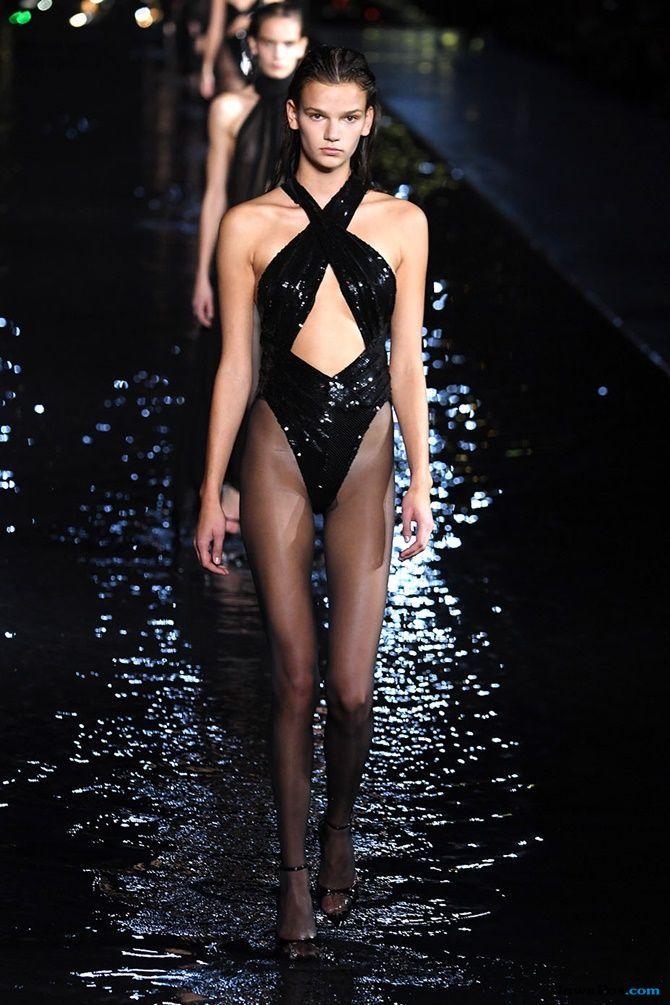 pekan mode dunia, paris fashion week, saint laurent,