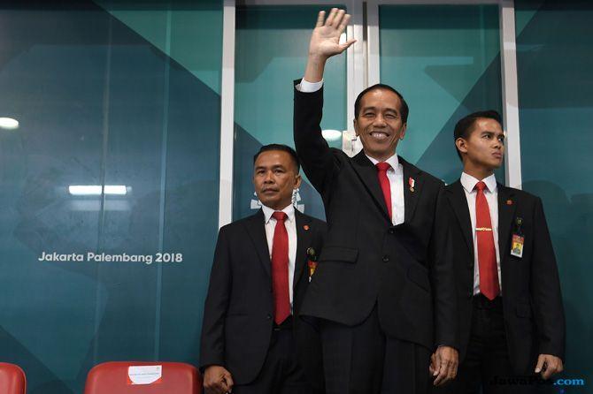 Asian Games 2018, Closing Ceremony, Presiden Jokowi, Jokowi, Joko Widodo